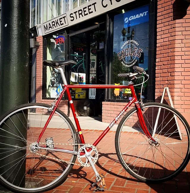 Turn that old vintage racer into a Super Townie at Market Street Cycles. #donthatemebecauseImbeautiful #pimpinainteasy