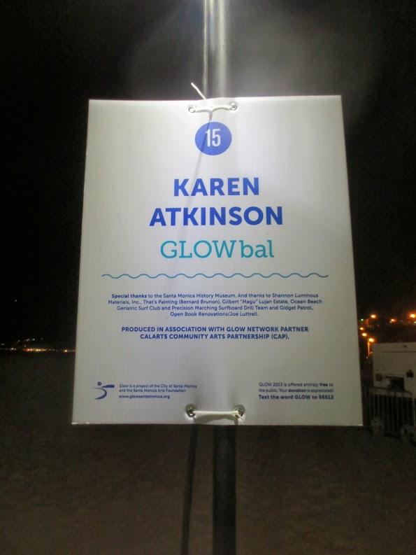 GLOWbal, Karen Atkinson, 2013. Signage.