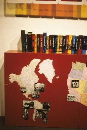 "Left Section Detail, Era After Era, Karen Atkinson, 'Unknown Secrets: Art and the Rosenberg Era"""