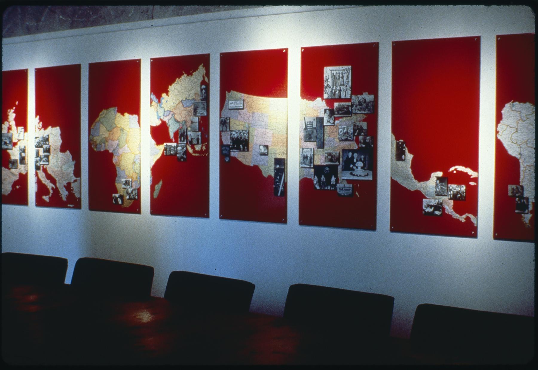 Era After Era II Installation, Karen Atkinson, detail