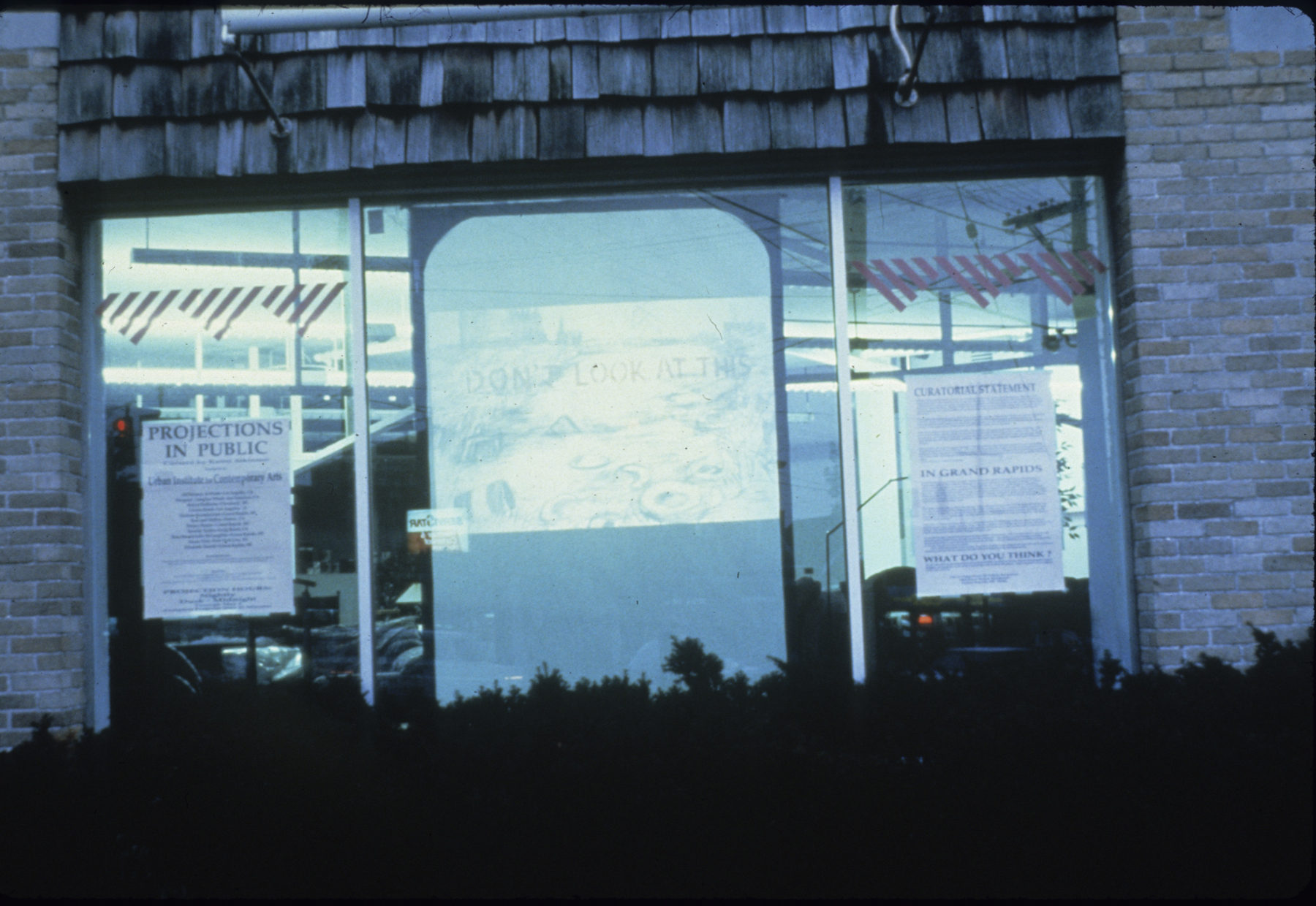 Projections In Public: Grand Rapids