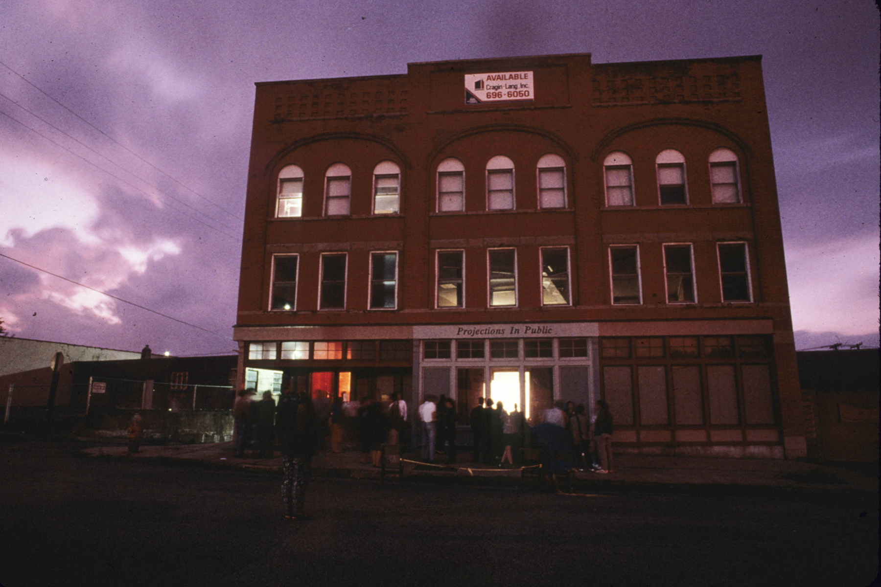 Projections in Public: Cleveland, curated by Karen Atkinson