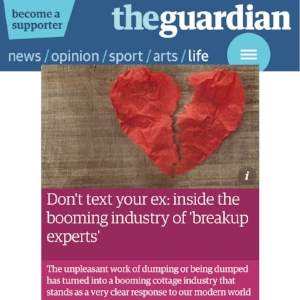 BetterBreakups.com - Image of the guardian article.