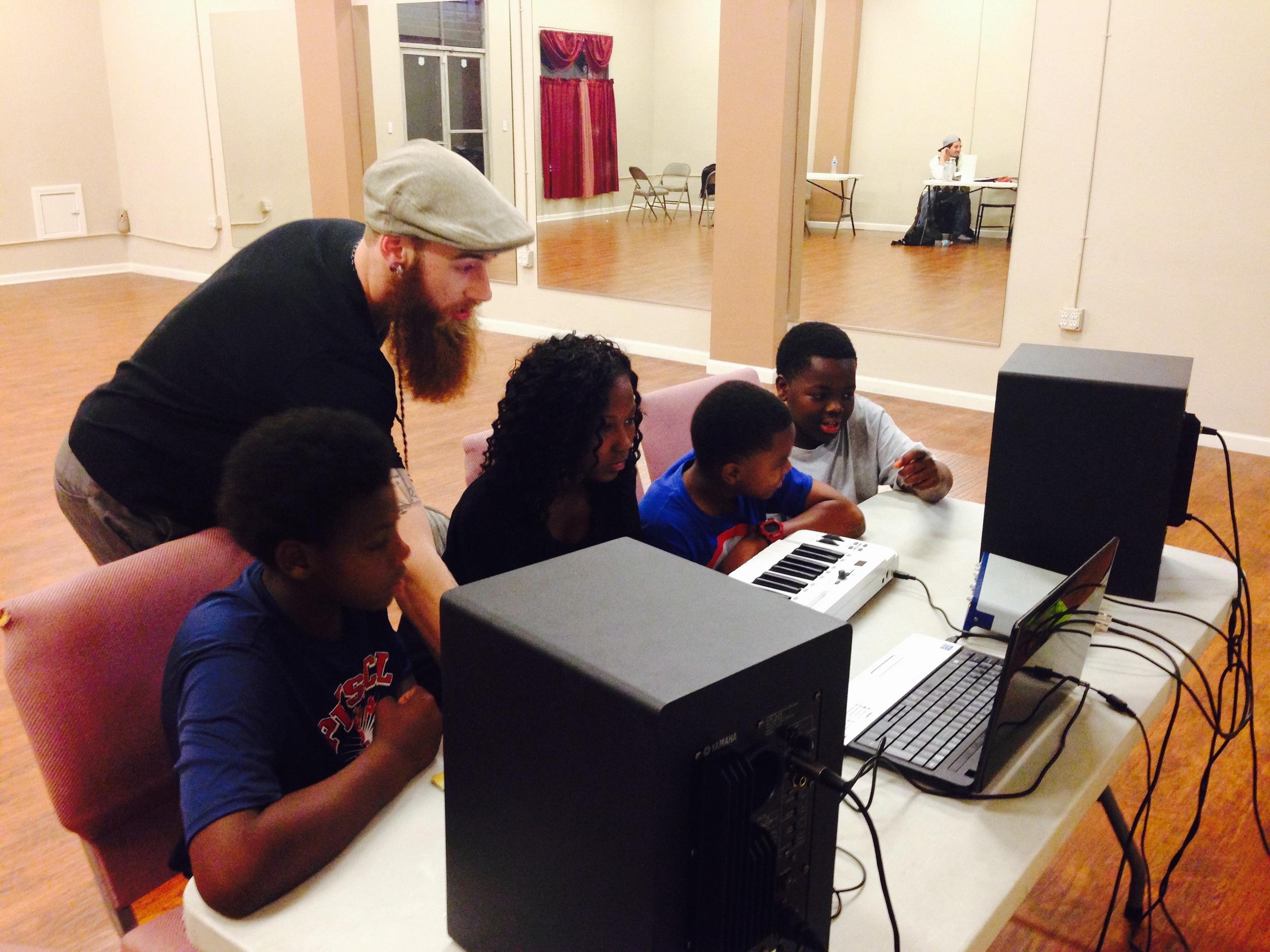 Music Production class with Souljah Keyz