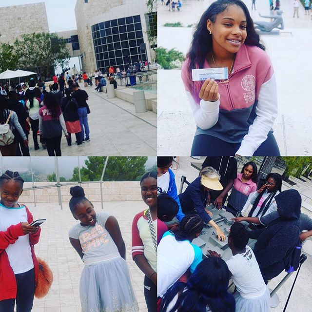 Fun times at the Getty last weekend!! #DiscoverYOU #MakeADifference #DreamHard  #discoverYOUcpt #compton #cpt #hubcity #nonprofit #nonprofitorganization #performingarts #dance #africa #africandance #bethechange #makeadifference #inspire #youth #thefuture #cali #straightouttacompton #iamcompton #motivation #DISCOVERYOU #gettymuseum