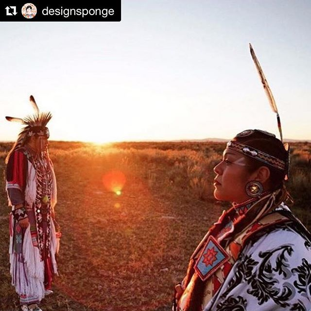 #indigenouspeoplesday ❤️ #Repost @designsponge ・・・ Today is #indigenouspeoplesday and in addition to sharing some links about better understanding and supporting indigenous communities, I wanted to share one of my favorite photos taken by @matikawilbur - She took this photo of Miss Indian Nations 20, Shannon Hooper (Paiute Shoshone from Fallon, Nevada) and shared a wonderful interview with her about the significance of dance and ceremony, specially the fancy shawl dance for pow wow. I'll be sharing more links today, but in my profile link above you can watch Matika's @ted talk about changing the way we see Native Americans and about her amazing Project 562.