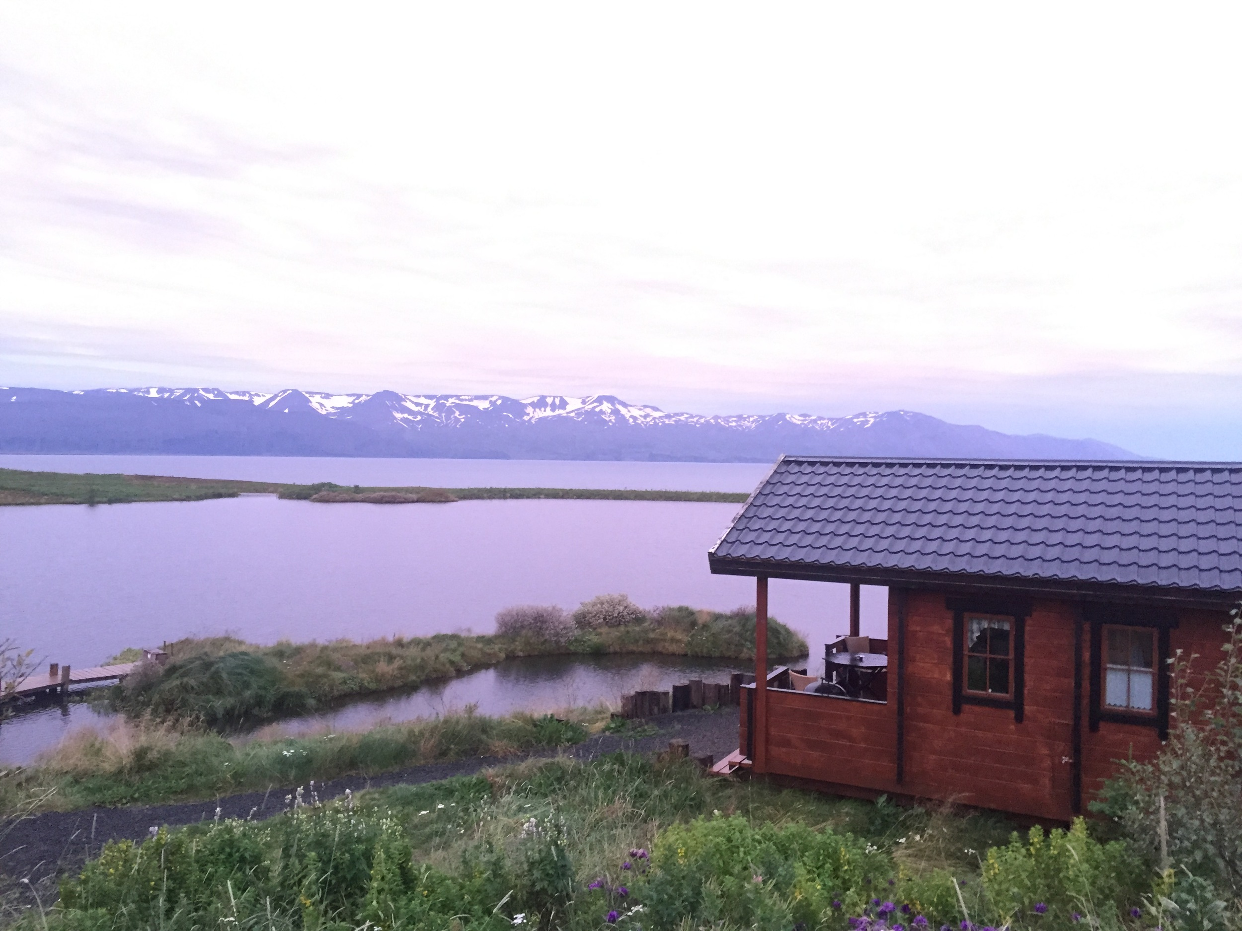 Our sweet cabin in Husavik