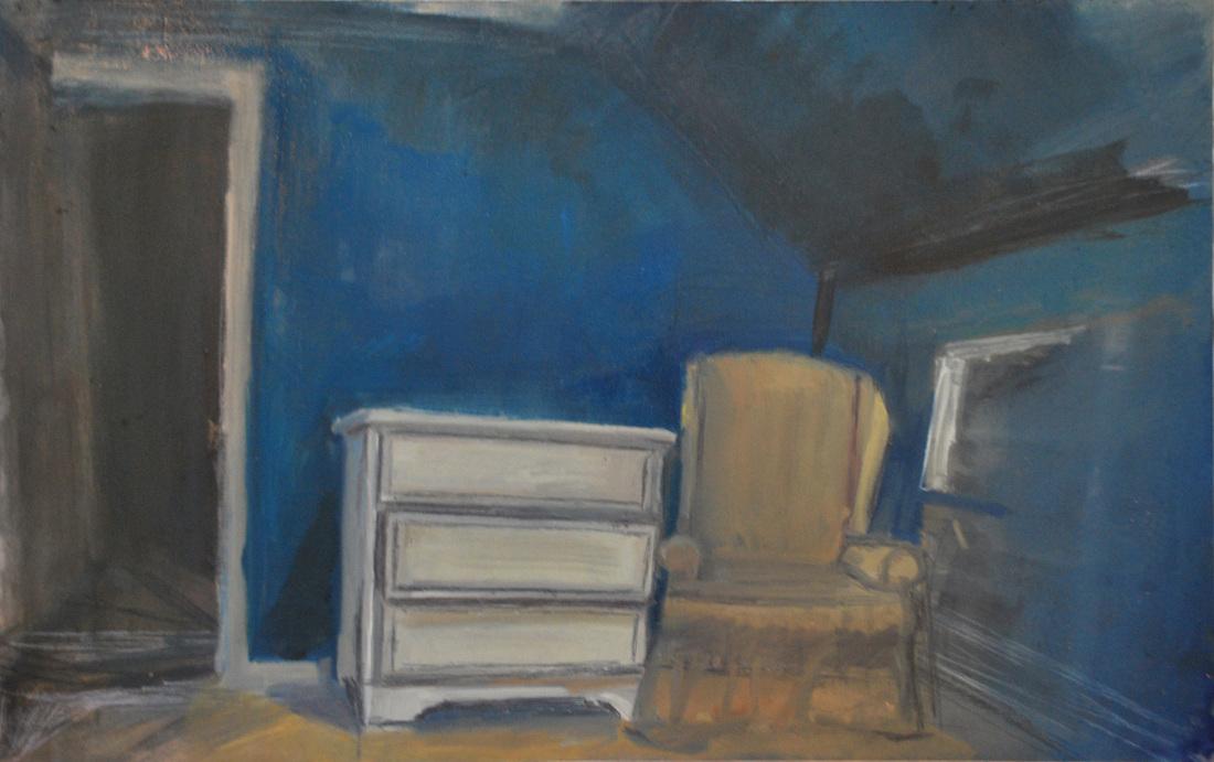 "2012 / 18"" x 24"" / Oil on panel"
