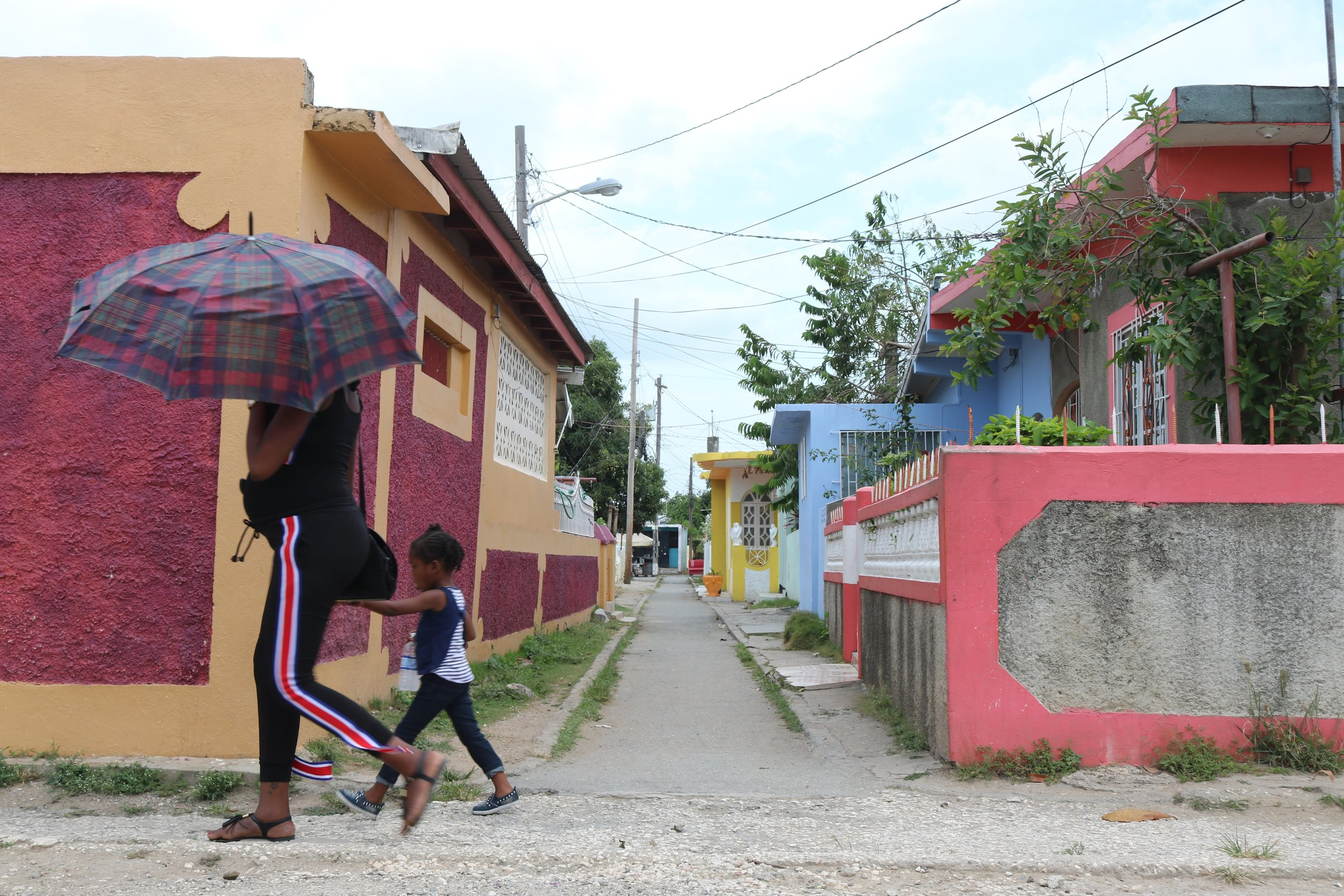 COMMUNITY - Dela Vega City is one of six districts in Spanish Town central. It has a population of approximately 7,000 people. The community was built on 23 acres of land to help relieve the acute housing shortage in Spanish Town. All of the homes in the community are made of concrete and blocks.