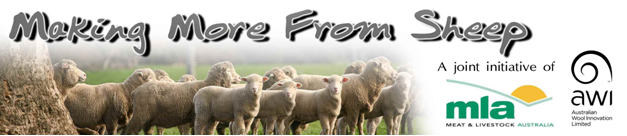 Delivered at no-cost to producers through co-funding by Making More from Sheep and support from by UNFS.