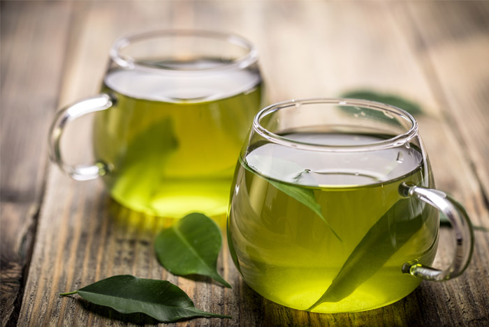 Green Tea - This steamy sip hydrates like water, which can help fill you up and shed pounds. Plus, the antioxidants in green tea will up your fat burn and calorie burn. One study found that five cups a day could help you lose twice as much weight, most of it around your middle.