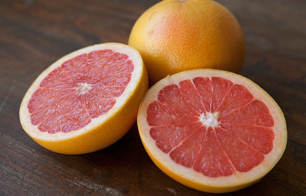 Grapefruit - Even if you changed nothing else about your diet, eating half a grapefruit before each meal may help you lose up to a pound a week!A compound in the tangy fruit can lower insulin, a fat-storage hormone, and that can lead to weight loss. It's also a good source of protein, and because it's at least 90% water, it can fill you up so you eat less.For more foods that will help burn fat, check out my friends at Maira Nutrition