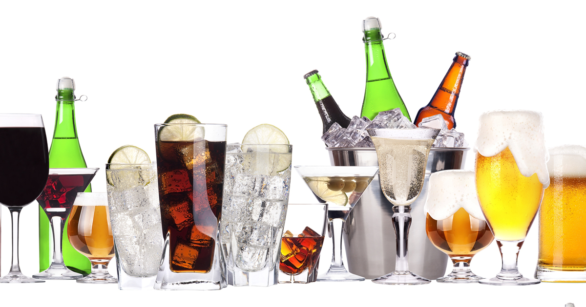 Stay away from alcohol - Alcohol can make your stomach feel bloated. By the end of the night and into the next day those drinks well just turn into fat, your body will only be able to store it as fat since their is no nutrients in it.