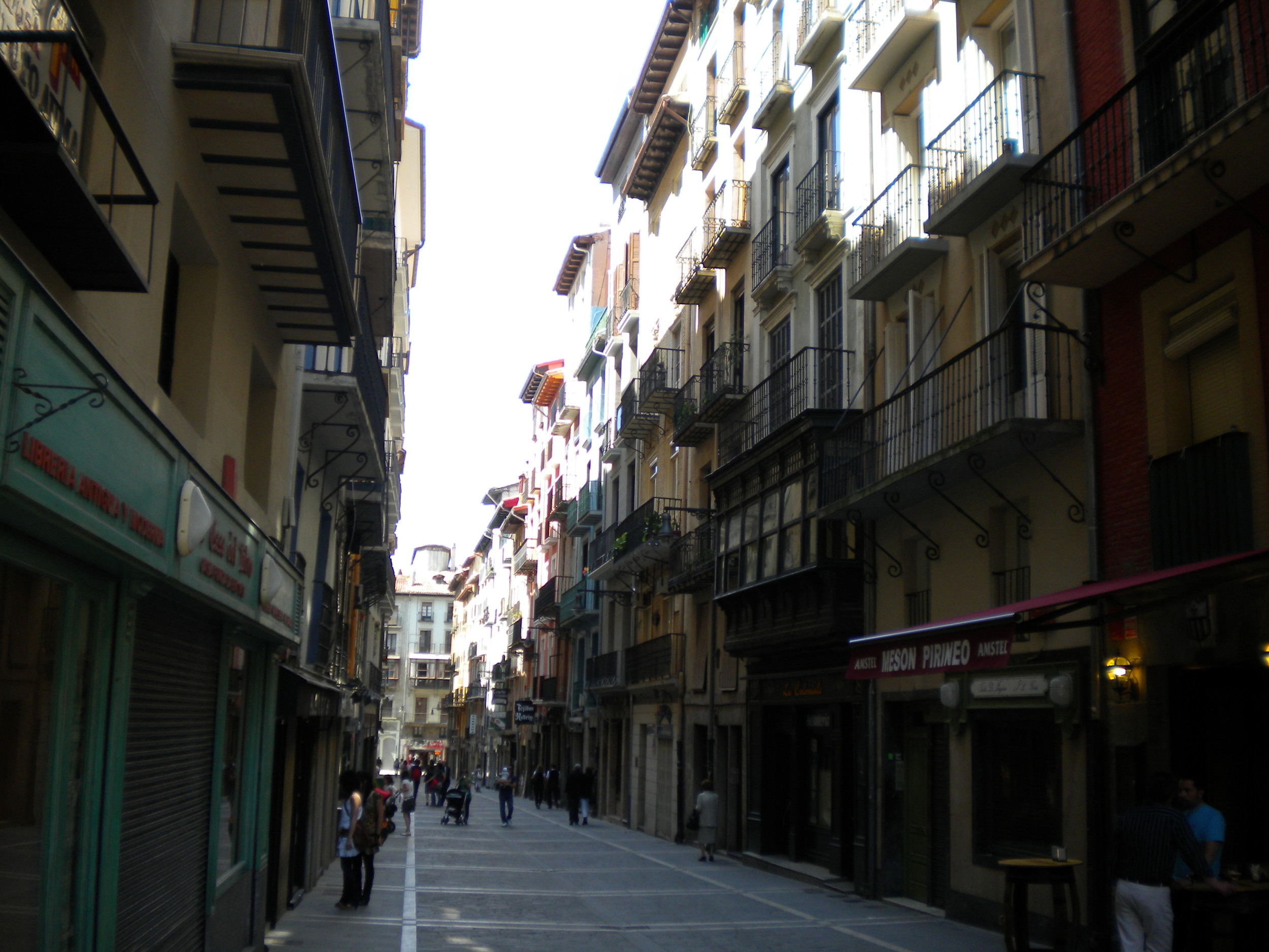 Calle Estafeta, Pamplona/Iruña