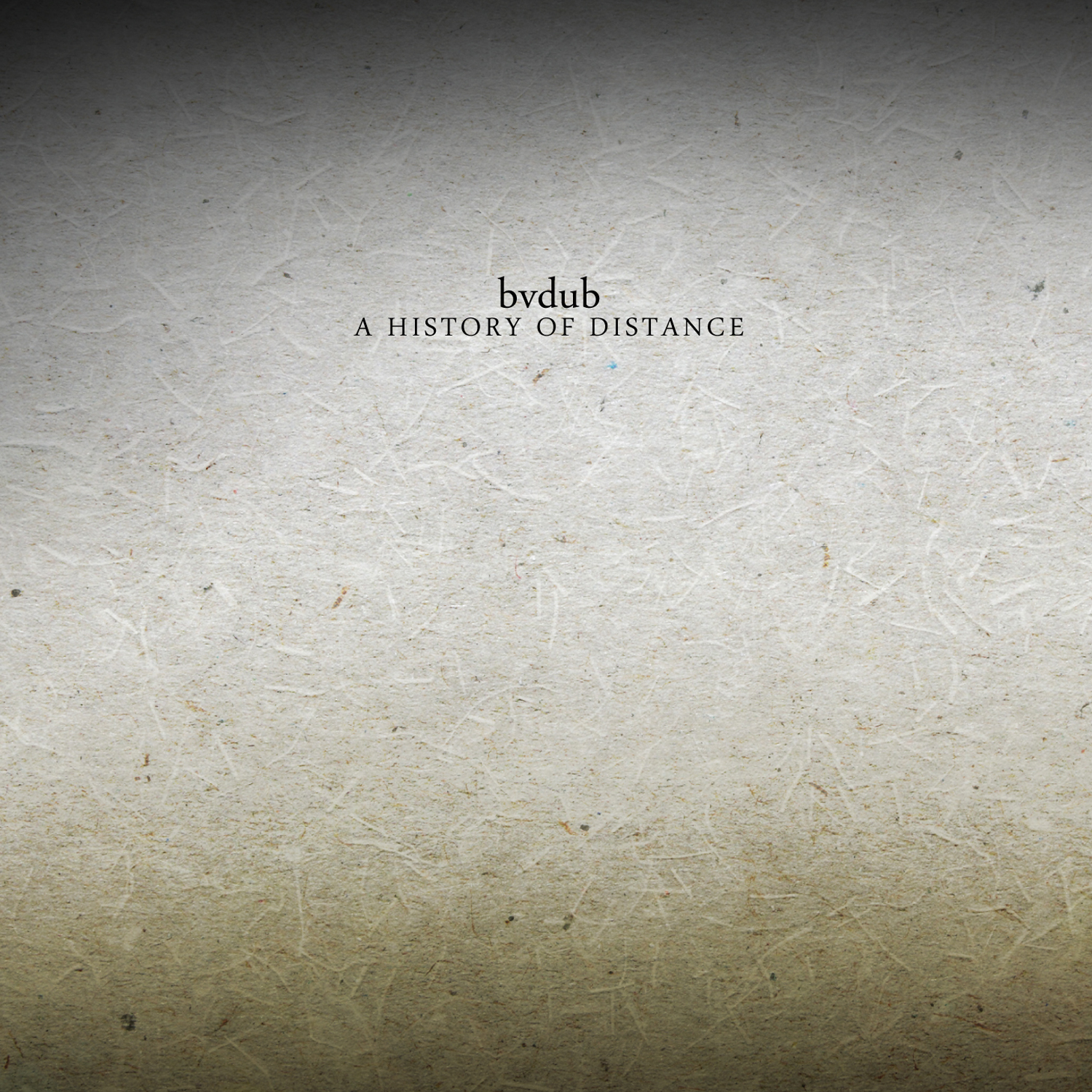 bvdub • A History of Distance