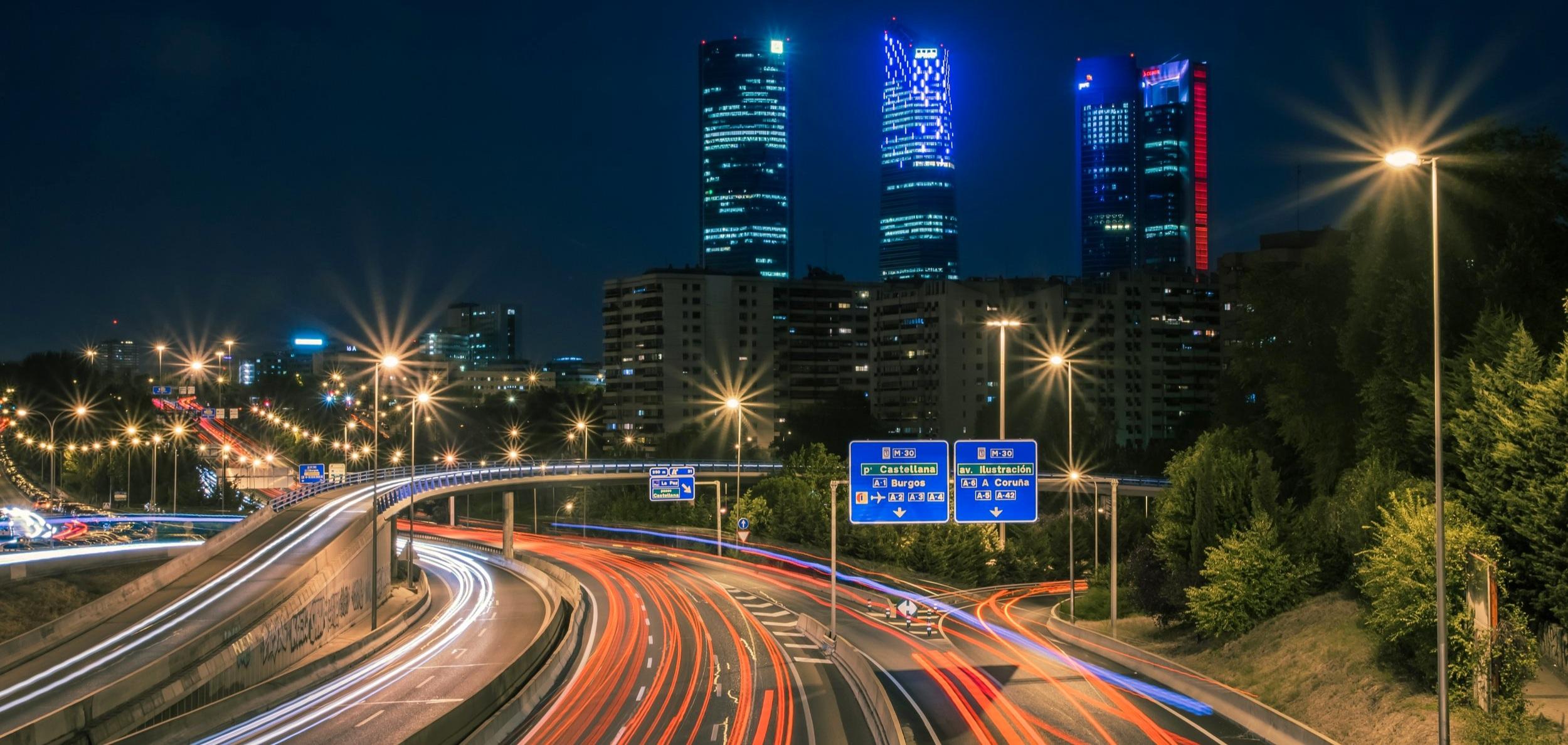 Carreteras al norte de Madrid
