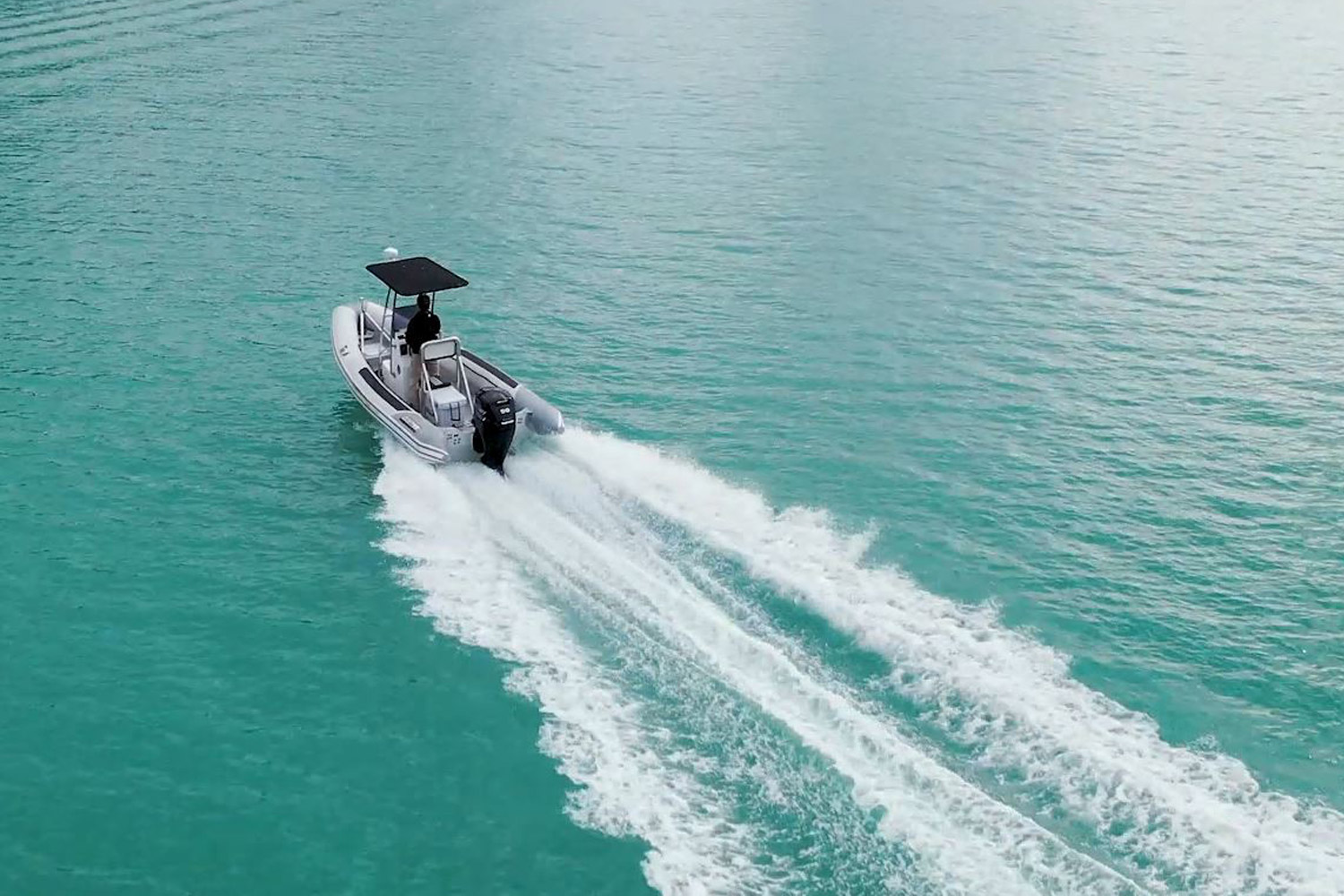 Invincible RIB on the water 2
