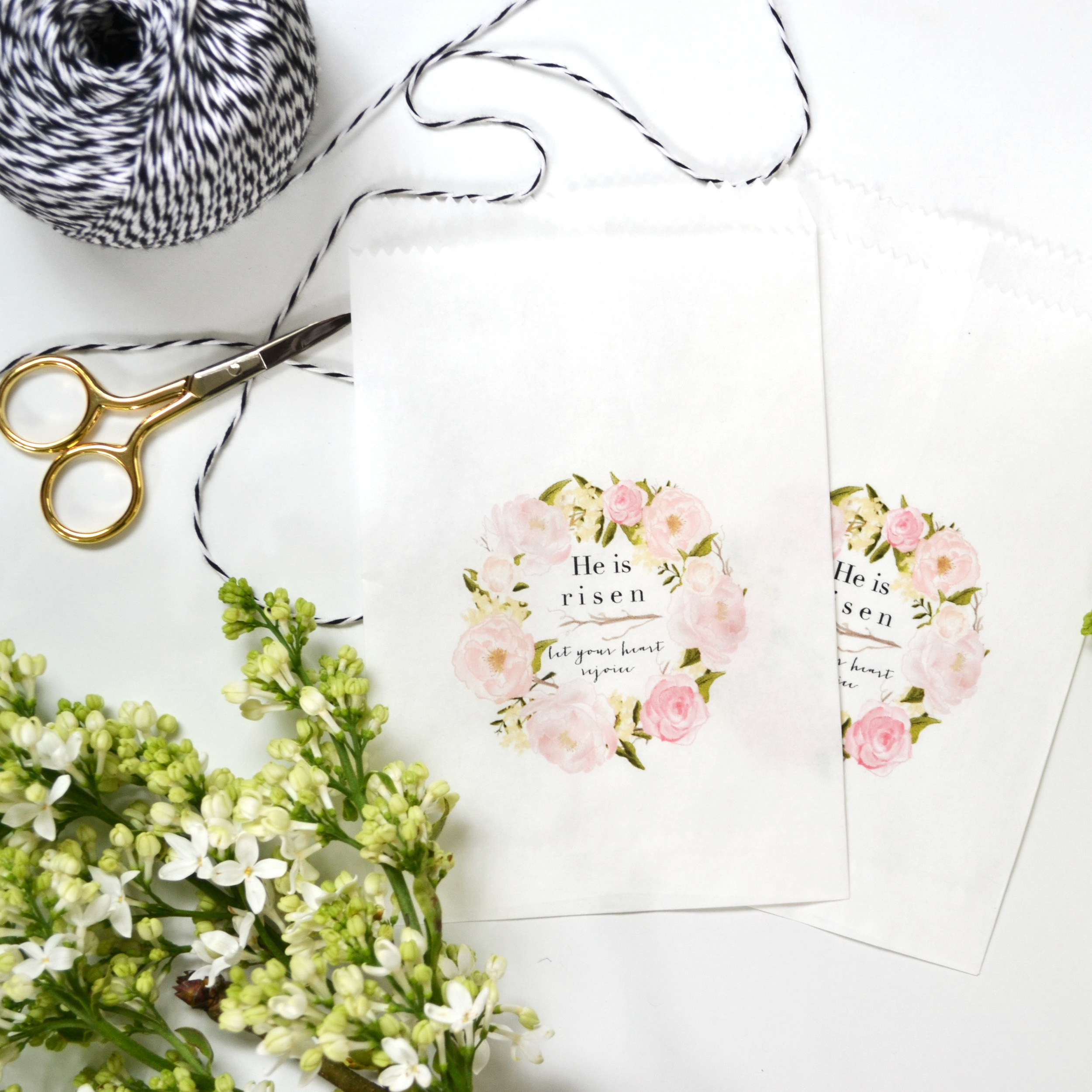 Free Download Easter Goodie Bags | Boxwood Avenue