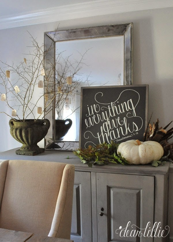 Beautiful autumn sign from Dear Lillie