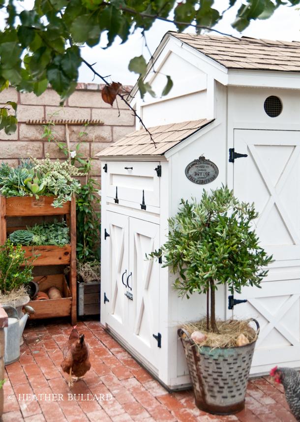 Amazing chicken coop from Heather Bullard!