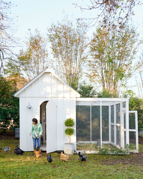 Amazing chicken coop from The Brown Shed!