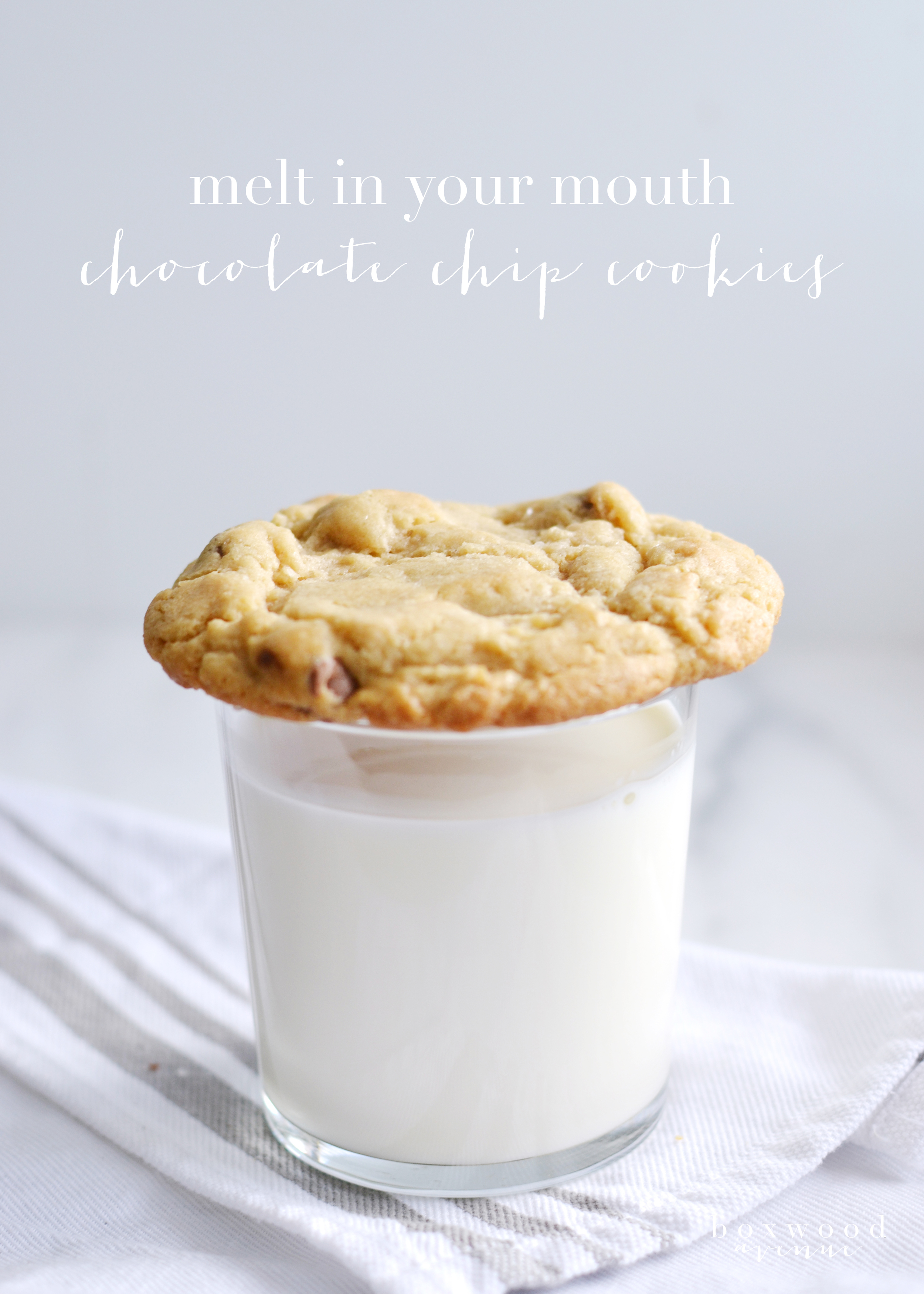 Great tips to remember for chocolate chip cookies - from boxwoodavenue.com