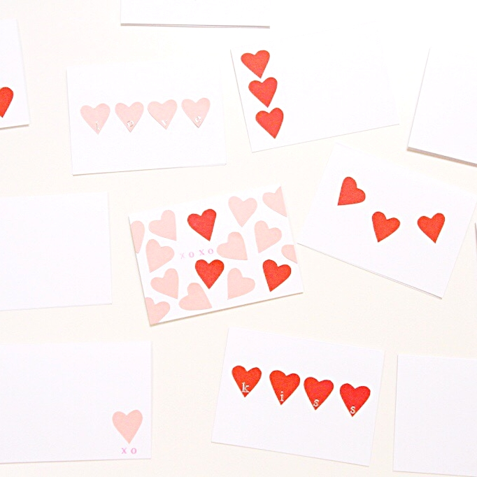 DIY Valentine's Day cards by Zevy Joy