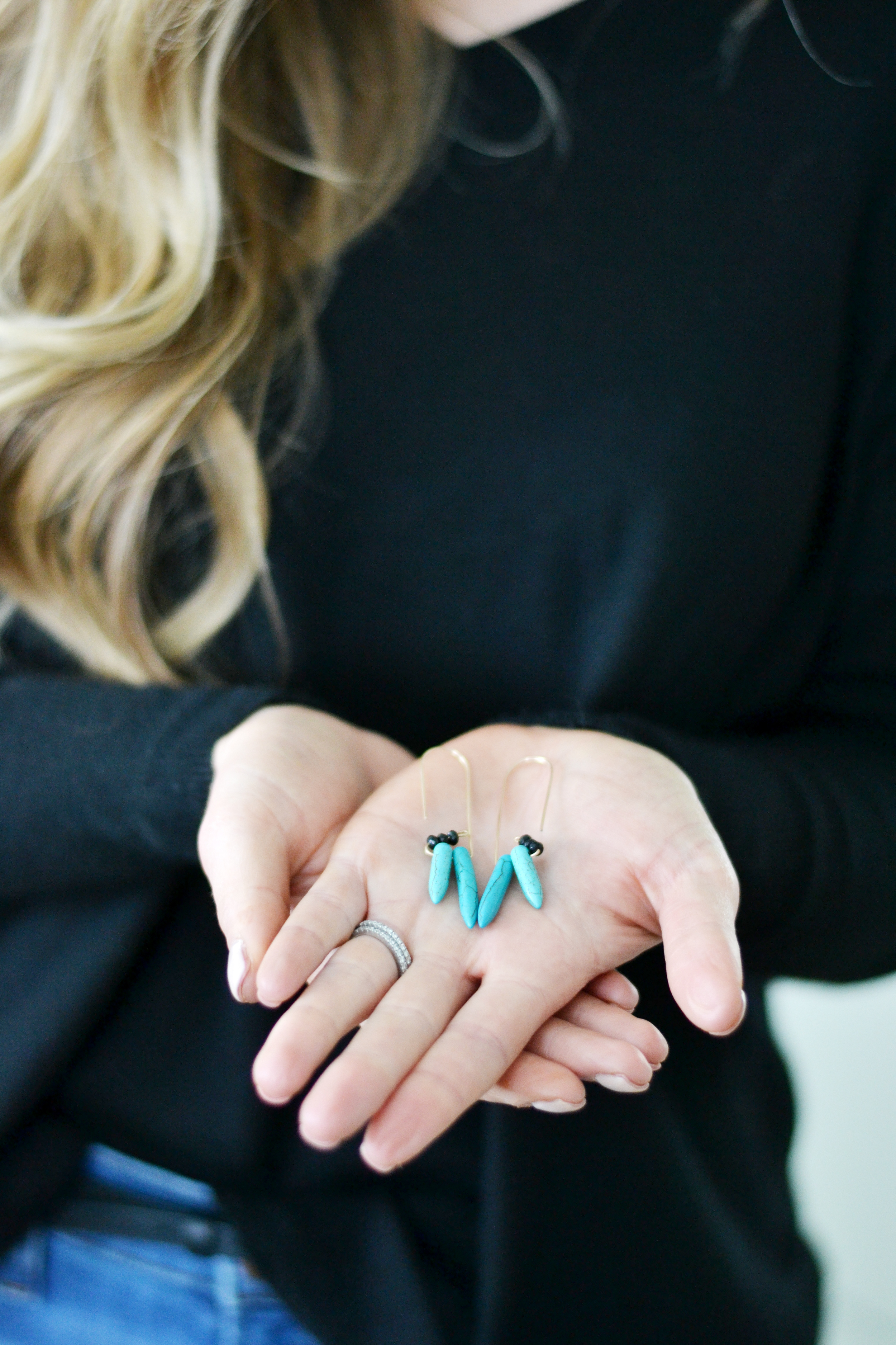 Awesome DIY earrings from Ann Revere Jewelry and Boxwood Avenue