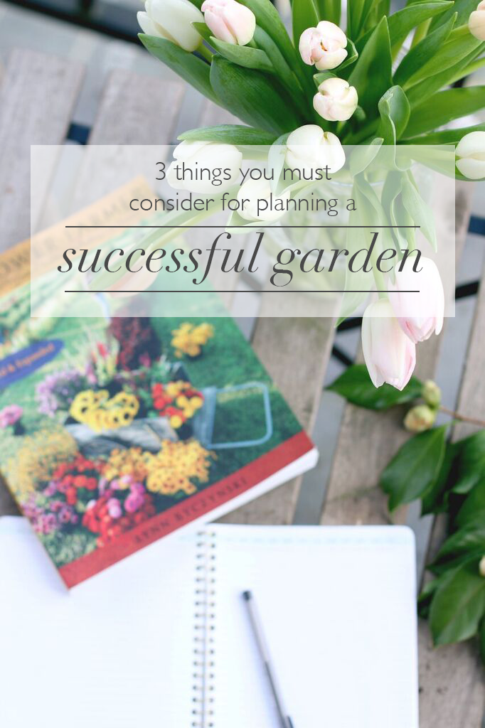 Some important things to consider for garden planning from Pretty Lovely Studios | boxwoodavenue.com