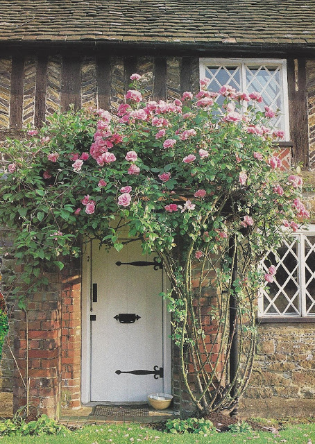 English roses from Victoria Magazine | The Charm of Home