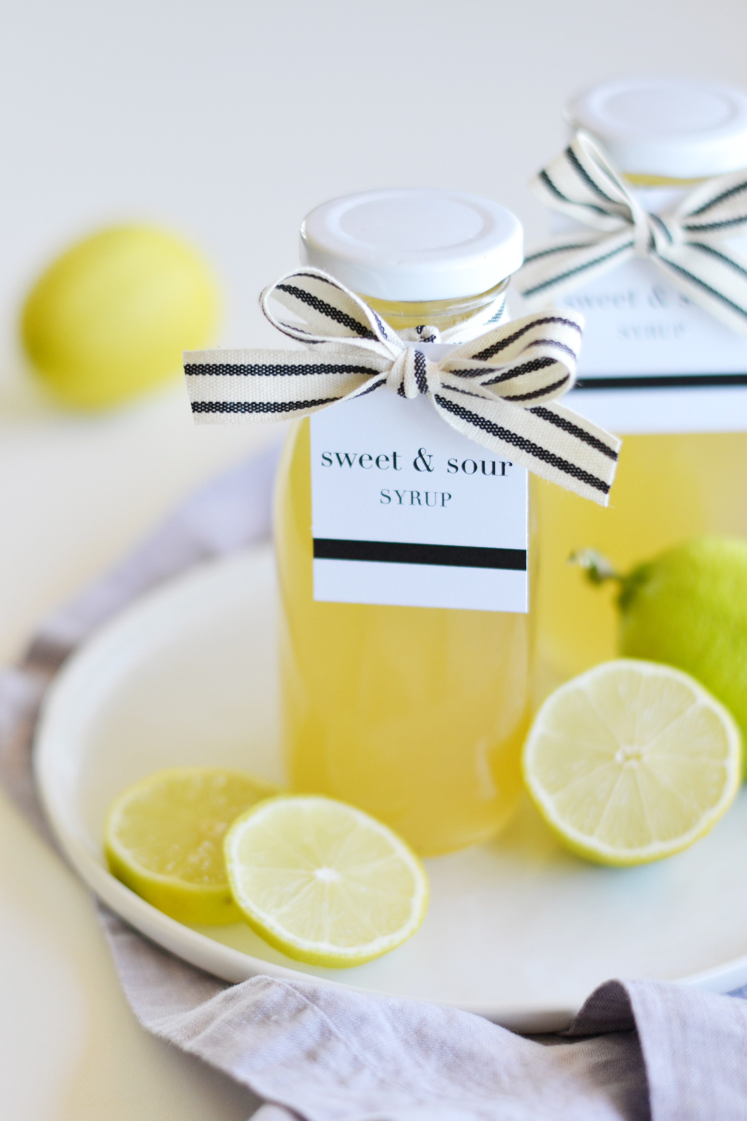 Delicious sour mix homemade and bottled up for gifting! boxwoodavenue.com