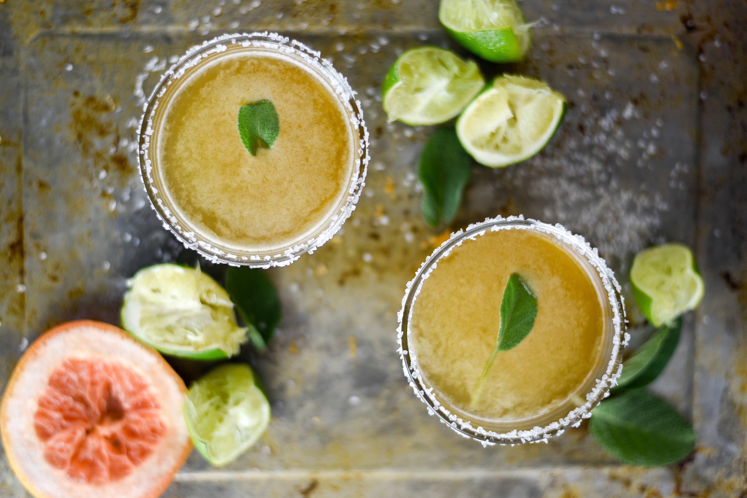 Grapefruit & Tequila with Sage - great Paloma recipe! boxwoodavenue.com