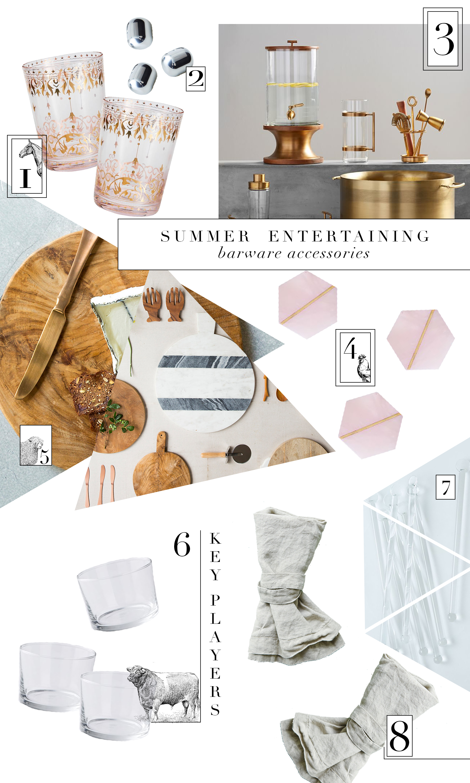 Summer Entertaining Essentials form boxwoodavenue.com