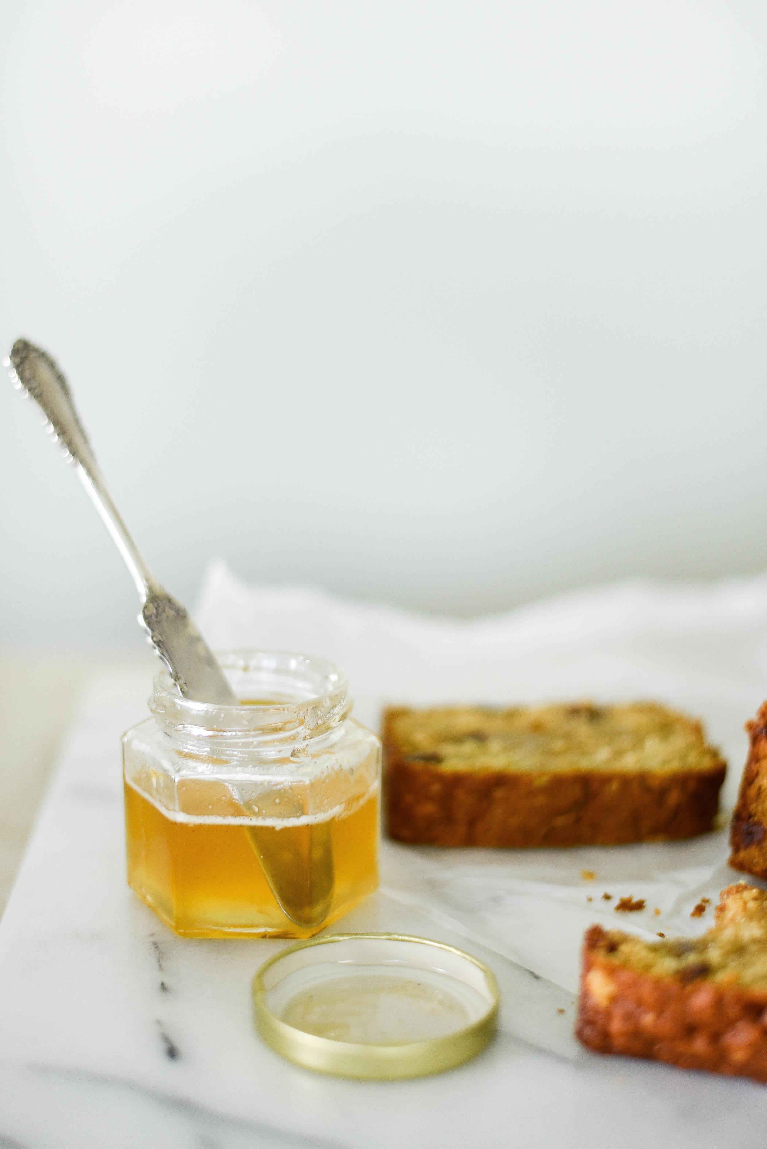 An easy nut free zucchini bread recipe with cherries | boxwoodavenue.com