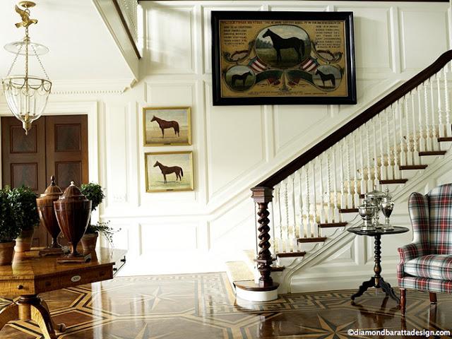 Equestrian Style Interiors | Baretta Designs