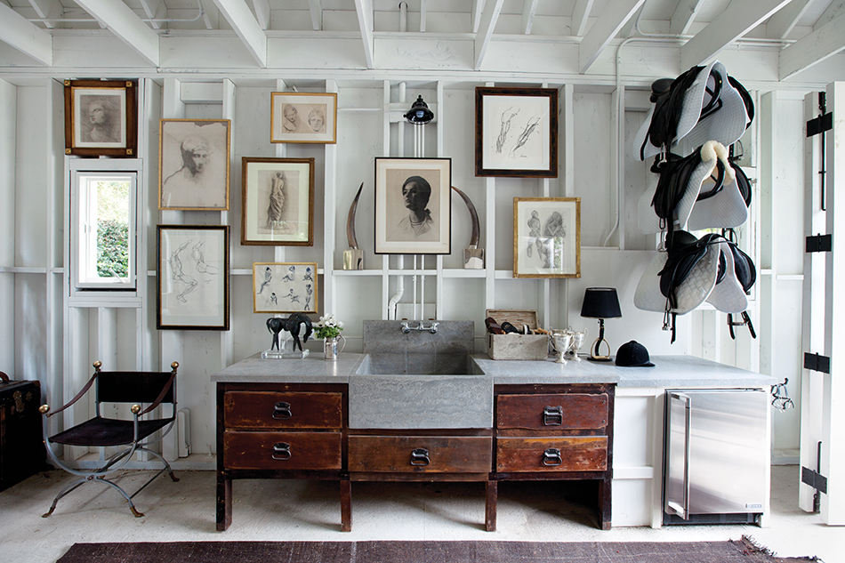 Equestrian style interior | Windsor Smith