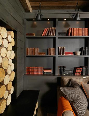 Charcoal gray walls   M Elle Design