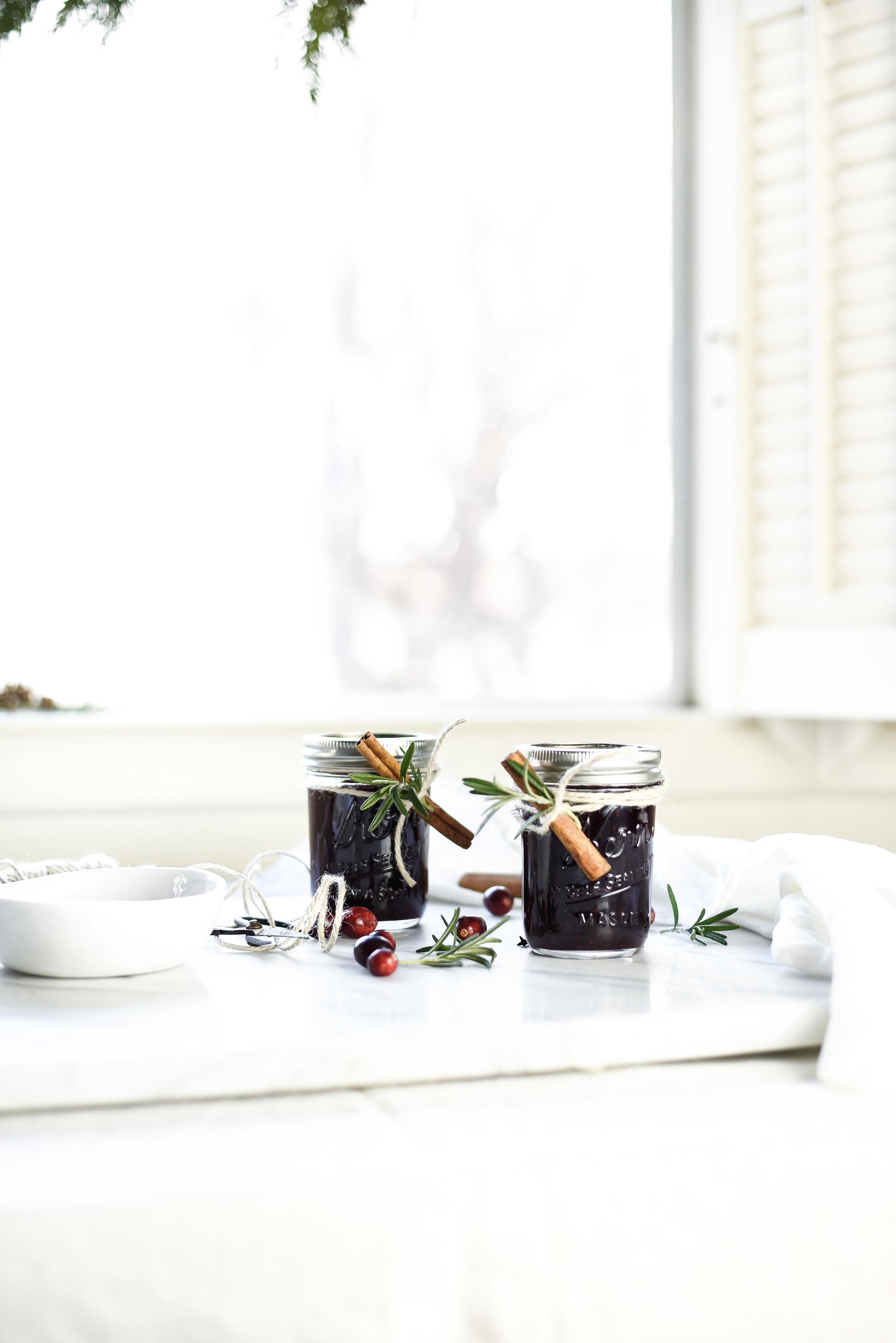 Spiced Cranberry Jam Preserves | boxwoodavenue.com