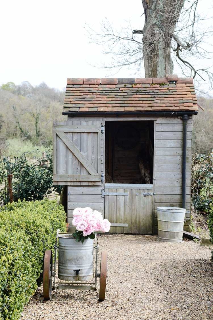 Outdoor storage & garden shed inspiration from boxwoodavenue.com | via Yvestown