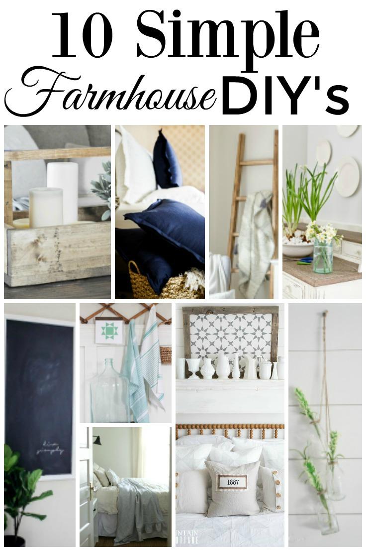 Some great DIY farmhouse decorating ideas | boxwoodavenue.com