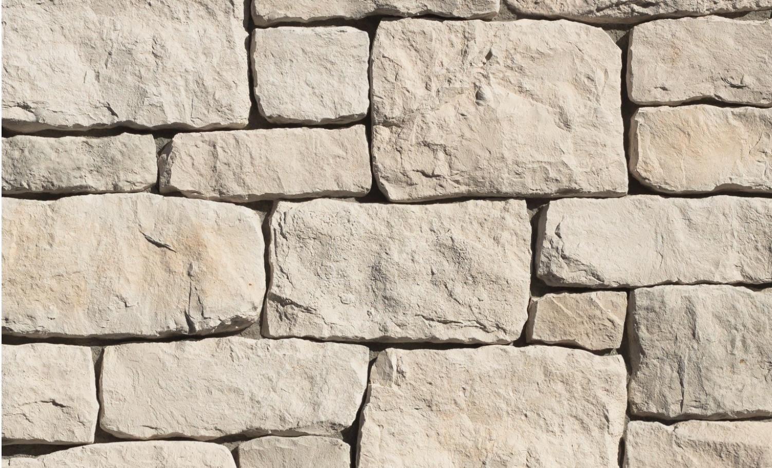 Casa Blanca Rough Cut from Eldorado Stone Veneers