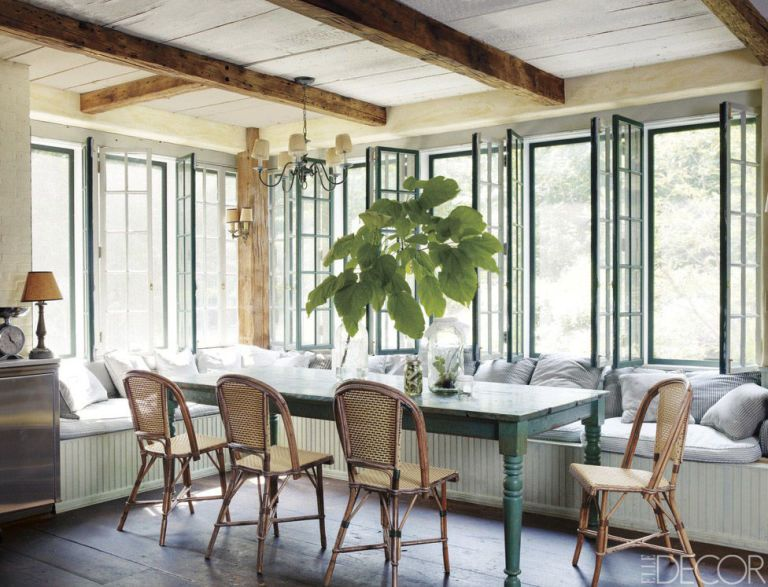 Woven Dining Chairs | Elle Decor