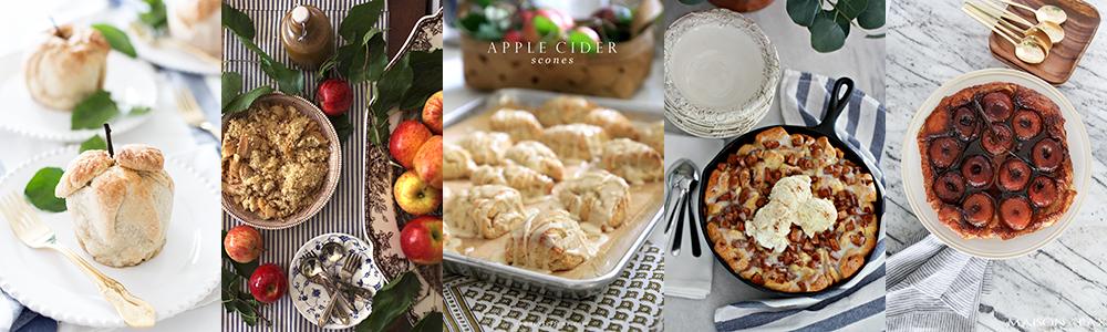 Fall Apple Dessert Recipes boxwoodavenue.com