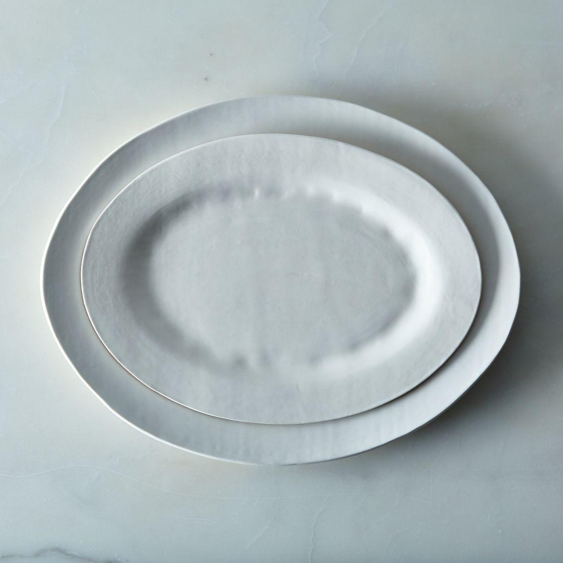 Food52 Handmade Oval Serving Platter, by Looks Like White.jpg