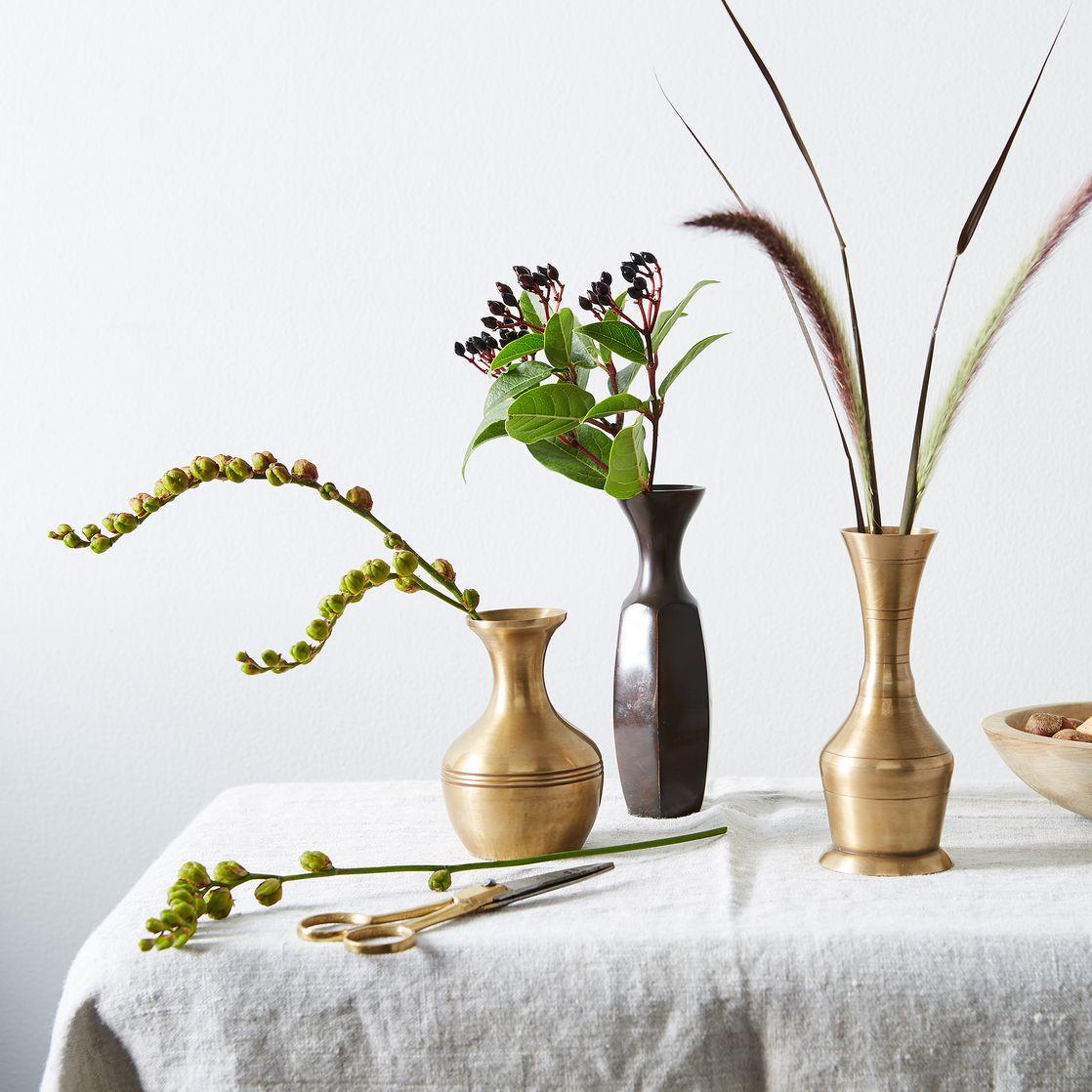 Food52 Vintage-Inspired Brass Bud Vases (Set of 3) .jpg