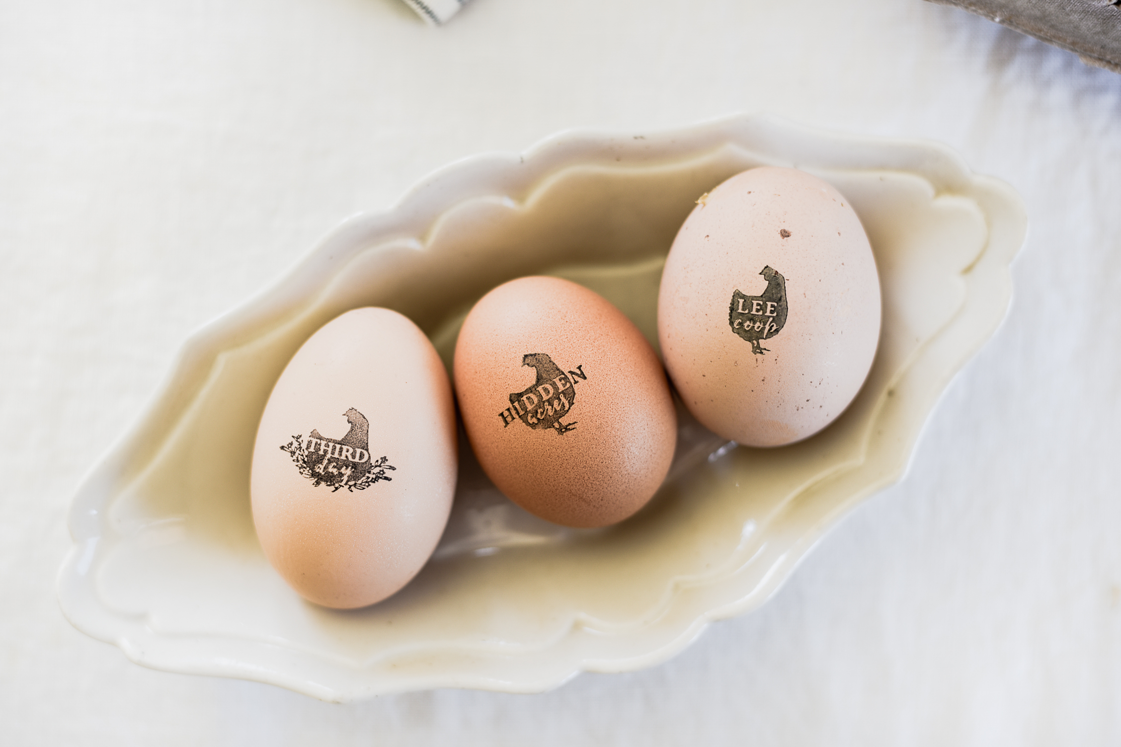 Custom Egg Stamp