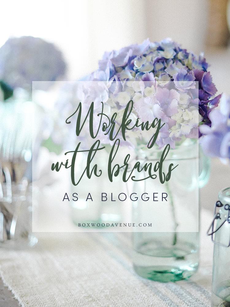 How do bloggers work with brands? boxwoodavenue.com