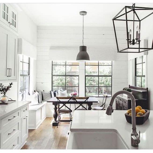 White kitchen remodel from Allegiance Builders