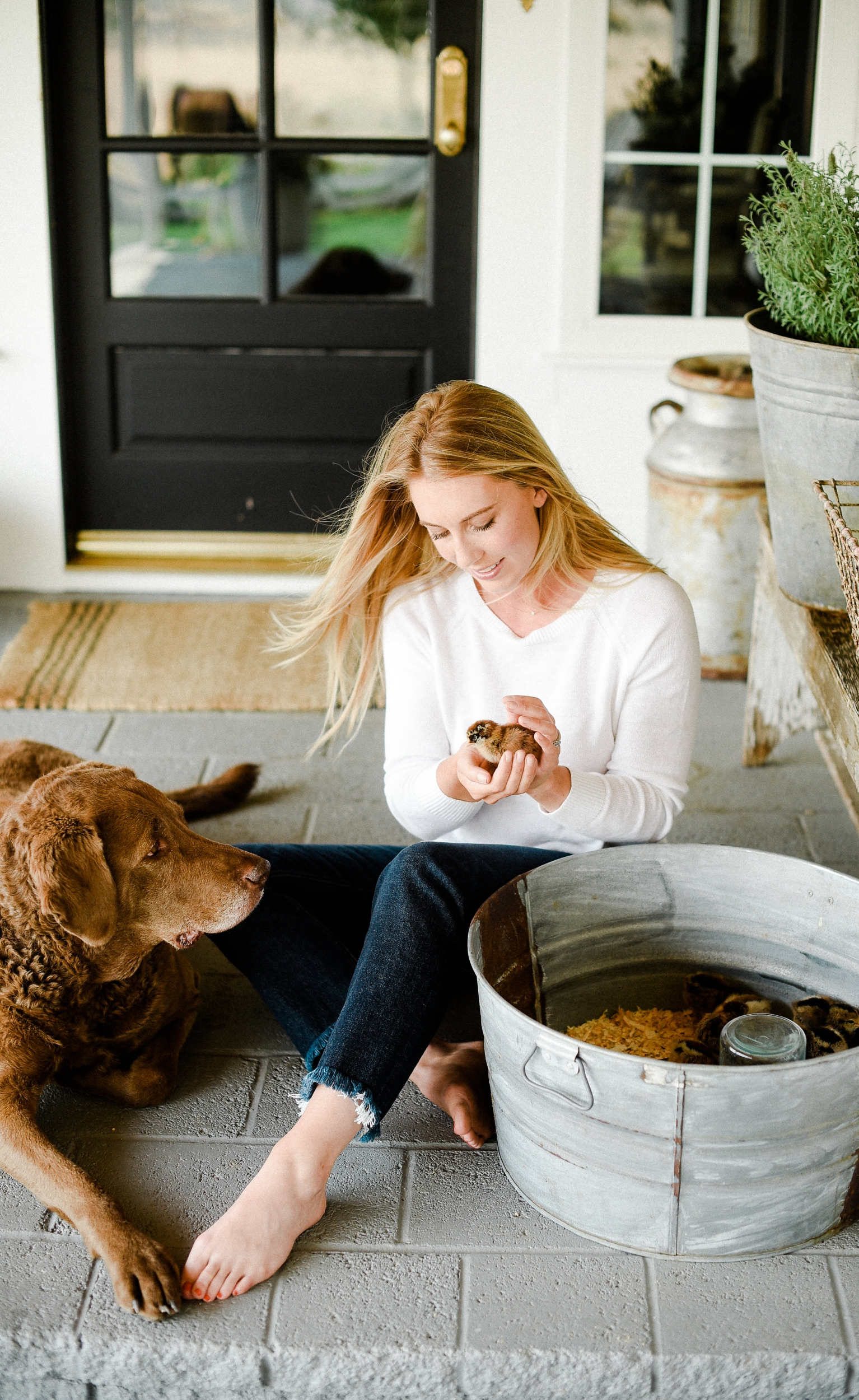 meet Chloe - learn about her story →see her recipe box →explore her home →