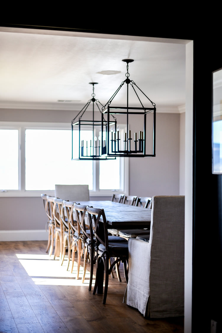 One Room Challenge Dining Room with Pink Paint | boxwoodavenue.com